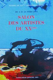 2 - Catalogue officiel 2002 du Salon du XXème arrdt. - Mairie du XXème - PARIS