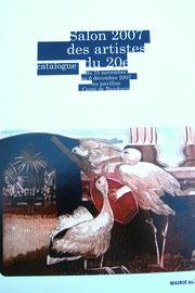 3 - Catalogue officiel 2007 du Salon du XXème arrdt. Pavillon Carré de Baudouin PARIS