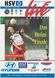 11.05.1996 Nr.17 HSV-VFB Stuttgart