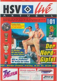 18.08.1995 Nr.1 HSV-Werder Bremen