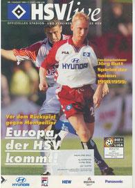 21.08.1999 Nr.1 HSV-VFB Stuttgart