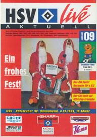 04.12.1993 Nr.09 HSV-Karlsruher SC