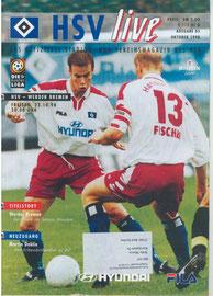 23.10.1998 Nr.5 HSV-Werder Bremen