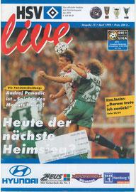 11.04.1998 Nr.15 HSV-Arminia Bielefeld