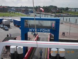 Rückfahrt von Föhr nach Amrum