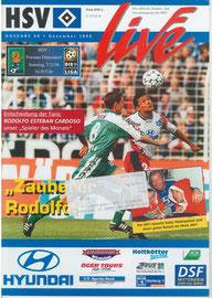 07.12.1996 Nr.8 HSV-Fortuna Düsseldorf