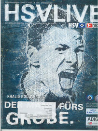 07.11.2004 Nr.6 HSV-Schalke