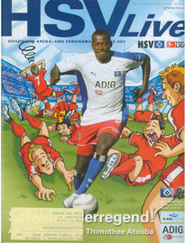 27.08.2005 Nr.2 HSV-Hannover
