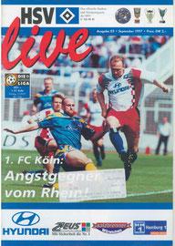 12.09.1997 Nr.3 HSV-1.FC Köln