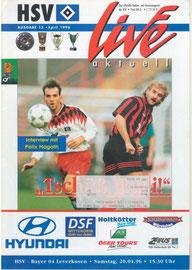 20.04.1996 Nr 15 HSV-Bayer Leverkusen