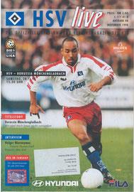 28.11.1998 Nr.8 HSV-Borussia Mönchengladbach
