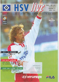 03.04.1999 Nr.13 HSV-SC Freiburg