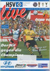 21.11.1997 Nr.8 HSV-Borussia Dortmund