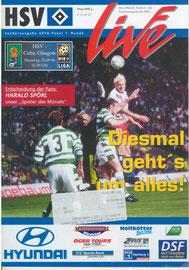 24.09.1996 UEFA-Pokal 1.Runde HSV-Celtic Glasgow