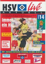 05.04.1994 Nr.14 HSV-Borussia Dortmund