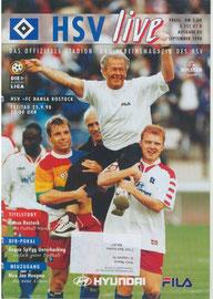 25.09.1998 Nr.3 HSV-Hansa Rostock