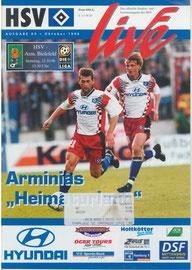 12.10.1996 Nr.5 HSV-Arminia Bielefeld