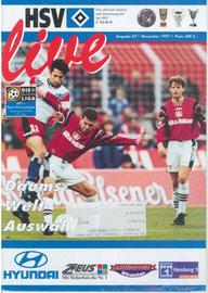 08.11.1997 Nr.7 HSV-Bayer Leverkusen