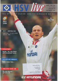 11.12.1998 Nr.9 HSV-Hertha BSC Berlin