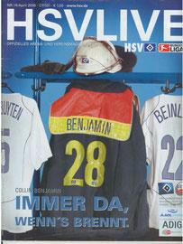 23.04.2005 Nr.15 HSV-Rostock