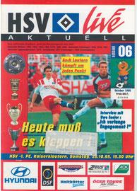 28.10.1995 Nr.6 HSV-1.FC Kaiserslautern