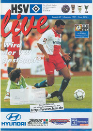 13.12.1997 Nr.9 HSV-VFL Wolfsburg