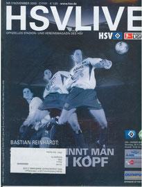29.11.2003 Nr.7 HSV-Bremen