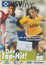 30.10.1999 Nr.5 HSV-Borussia Dortmund