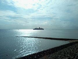 Das Traumschiff im hafen von Amrum