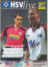 21.10.2000 Nr.5 HSV-Eintracht Frankfurt