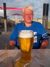 Ein kleines Bier im Strandpiraten