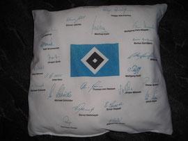 HSV-Unterschriften der Meistermannschaft von 1983