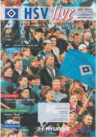 14.11.1998 Nr.7 HSV-Eintracht Frankfurt