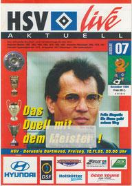 10.11.1995 Nr.7 HSV-Borussia Dortmund