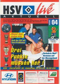 23.09.1995 Nr.4 HSV-Karlsruher SC