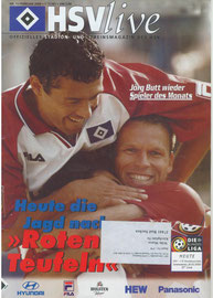 26.02.2000 Nr.11 HSV-1.FC Kaiserslautern