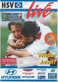 16.10.1996 UEFA-Pokal 2.Runde HSV-Spartak Moskau