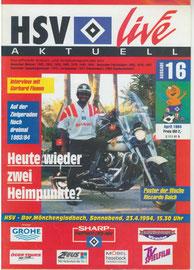 23.04.1994 Nr.16 HSV-Borussia Mönchengladbach