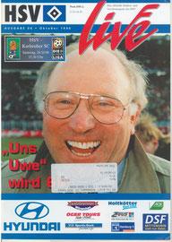 26.10.1996 Nr.6 HSV-Karlsruher SC