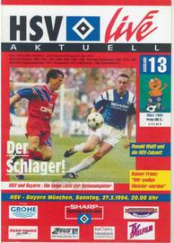 27.03.1994 Nr.13 HSV-FC Bayern