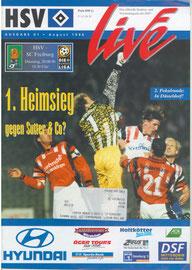 20.08.1996 Nr.1 HSV-SC Freiburg