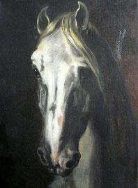 Tête de cheval de Gericault (copie)