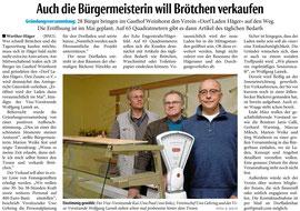 Haller Kreisblatt vom 26. Februar 2016 (www.haller-kreisblatt.de)
