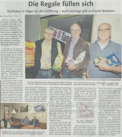 Westfalen-Blatt vom 28. Mai 2016 (www.westfalen-blatt.de)