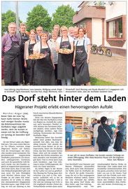 Westfalen-Blatt vom 6. Juni 2016 (www.westfalen-blatt.de)
