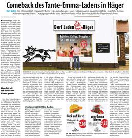 Haller Kreisblatt vom 11. Februar 2016 (www.haller-kreisblatt.de)