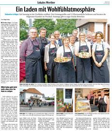 Haller Kreisblatt vom 6. Juni 2016 (www.haller-kreisblatt.de)