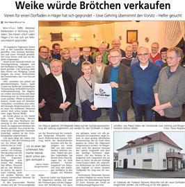 Westfalen-Blatt vom 26. Februar 2016 (www.westfalen-blatt.de)