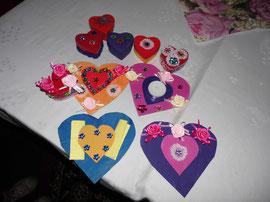 Ein paar Beispiele der gebastelten Geschenke...
