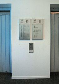 Orientierungssystem Fa. MENG